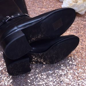 Michael Kors Shoes - Michael Kors Black Leather Tall Boots 5M